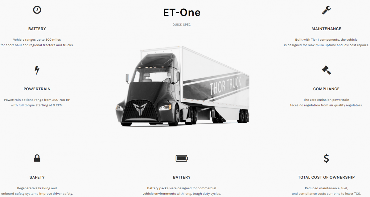 electric semi truck